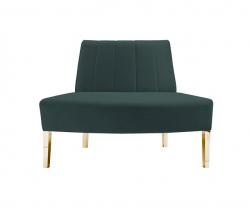 Kincaid Sofa - Outside Round - Emerald