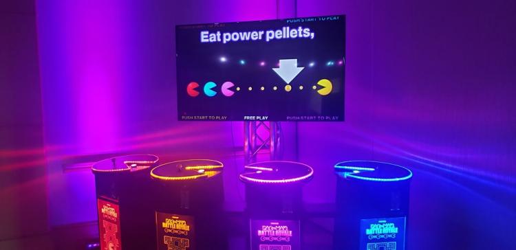 Pacman Battle Royale 4 Player Arcade Deluxe