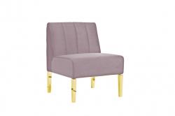Kincaid Chair - 2ft Length - Dusty Rose