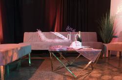 Kincaid Sofa - 8ft Length - Dusty Rose