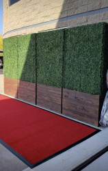 Red Carpet Runner - 6ft Wide x 25ft Long