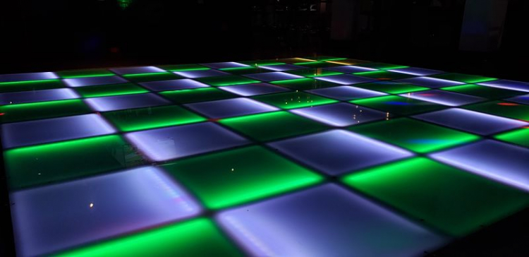 Glowing LED Dance Floor 20ft x 20ft