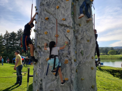 Rock Climbing Wall incl staff