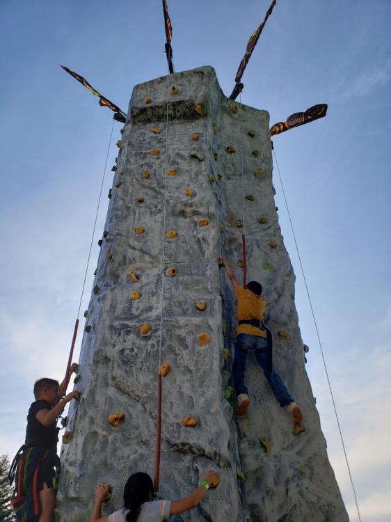 Rock Climbing Wall incl staff