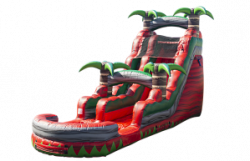 20' Ruby Red Crush Water Slide