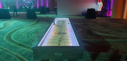 12ft Shuffleboard Table - Wood