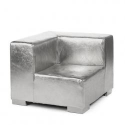 Mondrian - Corner - Silver Metallic