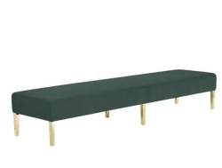 Kincaid Ottoman - 8ft Length - Emerald