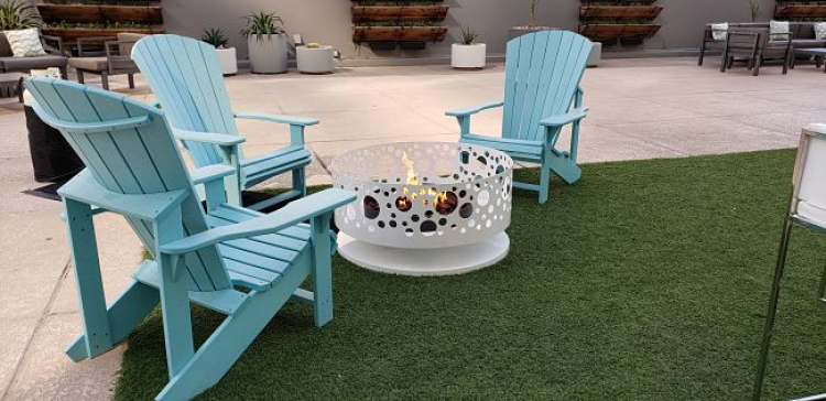 Solfire Fire Pit - White