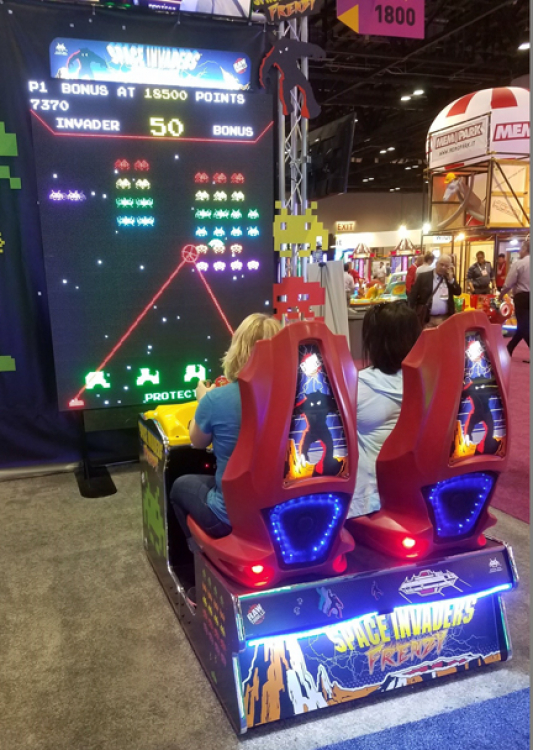 Worlds Largest Space Invaders Arcade