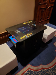 Classic Arcade Game - Sit Down Table