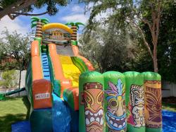 20ft Tiki Island Water Slide