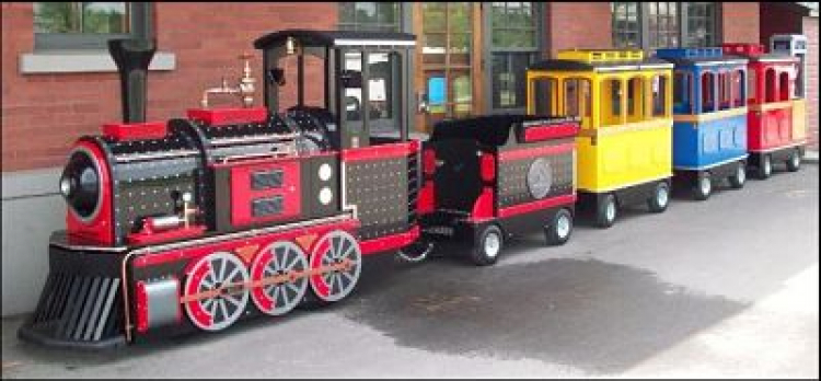 Premium Trackless Train Epic Party Team