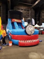 18ft Train Water Slide