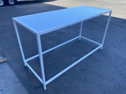 Communal Table - Rivington - White Frame