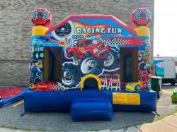 Racing Fun Bounce House