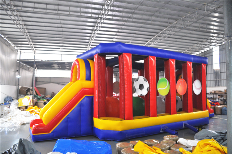 A new inflatable obstacle course from NM Party Rentals