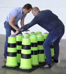 Interactive Cone Battle