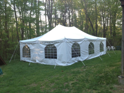 20' x 30' Canopy Tent Package