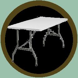 Rectangular Table 5'