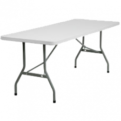 Rectangular Folding Table - 6'