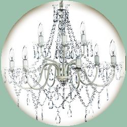 9 Lamp Chandelier