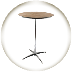 30'' Highboy Cocktail Table