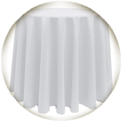 Table Linen for Highboy Cocktail Table