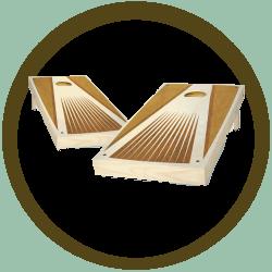 Pyramid Cornhole Boards