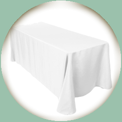 Table Linen for Rectangular Table