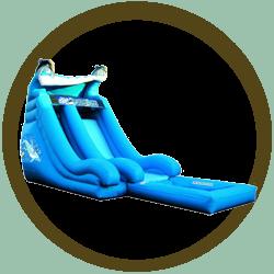 Super Splash 2 Slide with Pool
