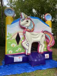 Magical Unicorn Bounce house