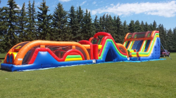 100' Mega INFLATABLE Obstacle Course