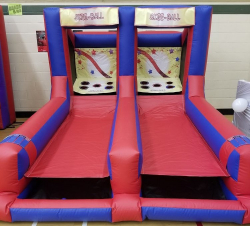 Dual Lane Skee Ball