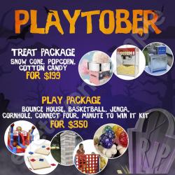 Playtober Packages