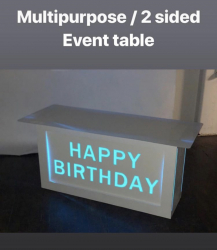 Light Up Table