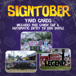 Signtober Packages