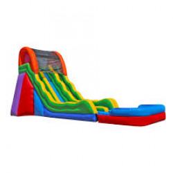 20' Fun Time Slide With Pool