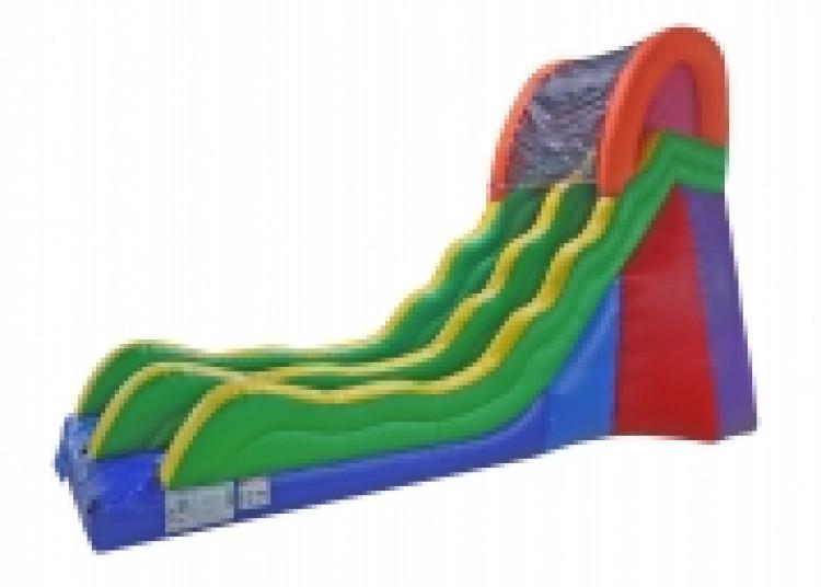 20' Fun Time Slide dry no pool
