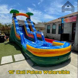 15' Cali Palms Waterslide