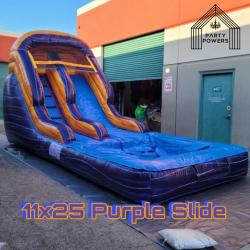 11x25 Purple Slide 11x25 Water Slide