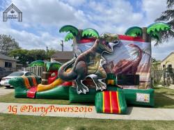 Dino Jumper & Slide WET