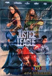 Justice League Banners