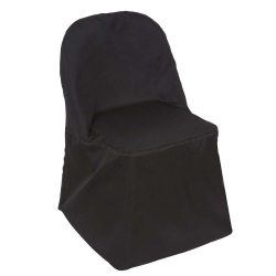 Black Chair Cover (Polyester)