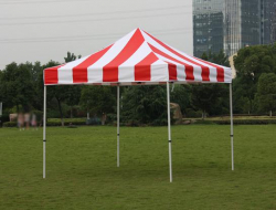 10 x 10 RED & WHITE POP UP TENT