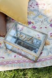 Cards Box - Boho Vintage Glass