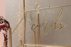 Contemporary Glass Cards box