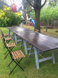 Tables - Timber Topped Trestle