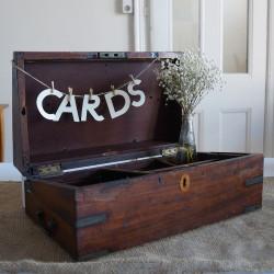 Timber Cards Box