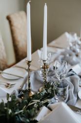 Candlestick - Vintage Brass